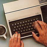 TI-99/4 & Coffee